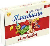 "Пластилин  6 цветов 110 гр. ""Липландия"" (7 наборов в упаковке), ТЕ461374, фото"