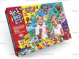 Пластилин «BIG CREATIVE BOX 4 в 1», BCRB-01-01