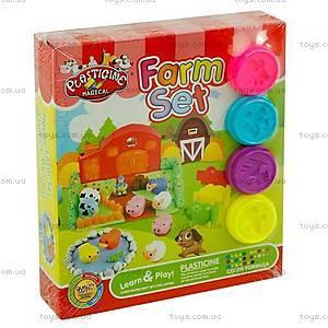 Пластилин для лепки веселой фермы, 9174