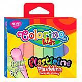 Пластилин Glow 6 цветов Colorino, 42680PTR, купить