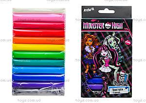 Пластилин мягкий для детей Monster High, MH14-086K