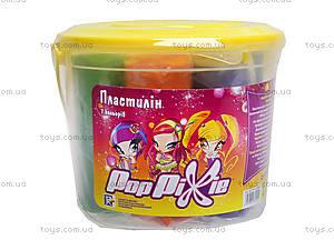 Пластилин мягкий Pop Pixie, 7 цветов, PP14-089K, цена