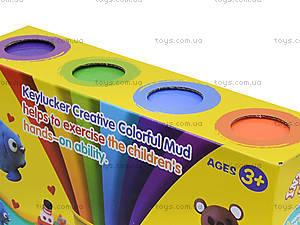Набор пластилина, 4 цвета, KA7026, купить