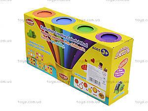 Набор пластилина, 4 цвета, KA7026, фото