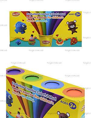Набор пластилина, 4 цвета, KA7026