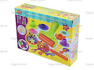 Пластилин с набором для лепки «Фантазер», KA3040, детские игрушки
