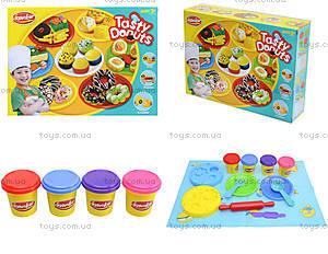 Пластилин с набором для лепки Tasty Donuts, KA3008B