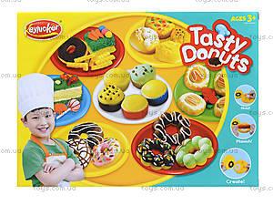 Пластилин с набором для лепки Tasty Donuts, KA3008B, отзывы