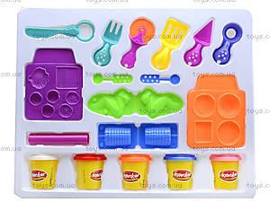 Пластилин для детей с набором для лепки, KA2019P, фото