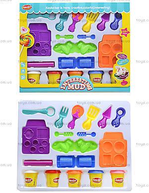 Пластилин для детей с набором для лепки, KA2019P