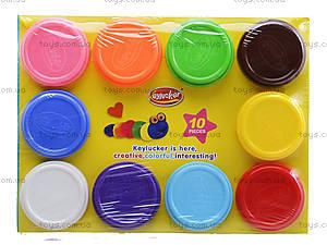 Пластилин для лепки, 10 штук, KA7016, отзывы