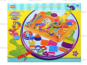 Творческий набор для лепки, пластилин, KA2019N, детские игрушки