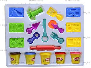 Детский пластилин с комплектом для лепки, KA1016B, купить