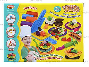 Набор пластилина для лепки «Юный кулинар», KA3017, игрушки