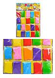 Суперлегкий пластилин в пакетиках, D002, купить