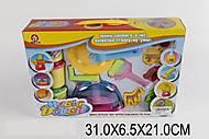 Пластилин в баночках с предметами в наборе, 326E, фото
