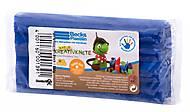 Пластилин восковой Becks Plastilin 250г темно-синий, B100089, фото