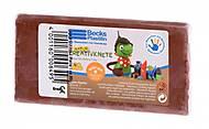 Пластилин восковой Becks Plastilin 86 г коричневый, B102350