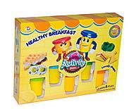 Пластилин «Здоровый завтрак», 9288, фото