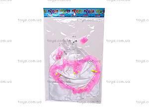 Платья для кукол, в наборе, 2204-34, детские игрушки