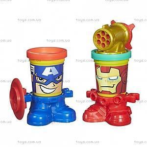 Набор для лепки Play-Doh «Герои Марвел», B0594, купить