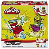 Набор для лепки Play-Doh «Герои Марвел», B0594, фото