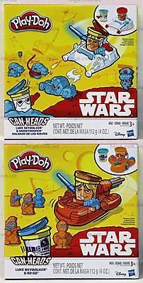 Пластилин Play-Doh «Герои Звездные войны», B0595