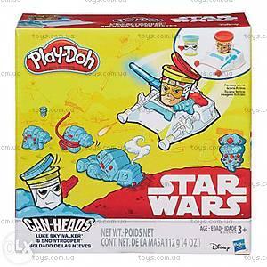 Пластилин Play-Doh «Герои Звездные войны», B0595, отзывы