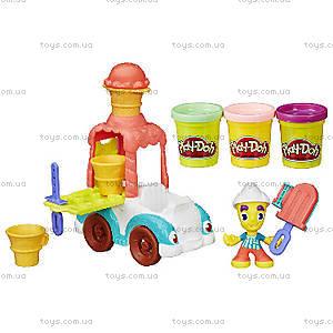 Игровой набор Play-Doh «Грузовичок с мороженым», B3417, купить