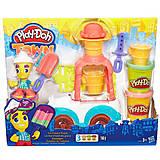 Игровой набор Play-Doh «Грузовичок с мороженым», B3417, фото