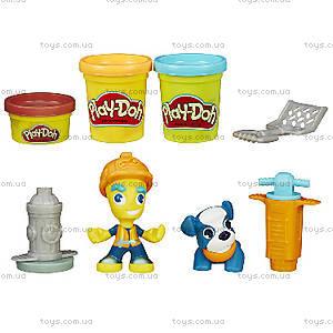 Игровой набор Play-Doh «Житель и питомец», B3411, купить
