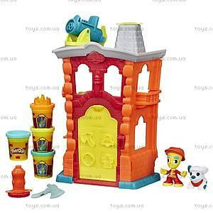 Игровой набор Play-Doh «Город. Пожарная станция», B3415