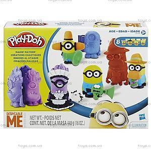 Набор игровой Play-Doh «Переполох Миньонов», B0498