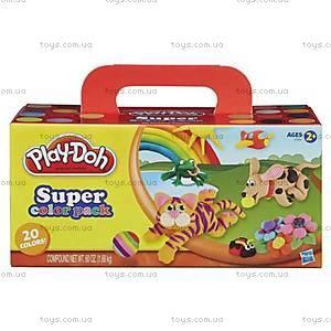 Игровой набор Play-Doh «Набор из 20 баночек», A7924