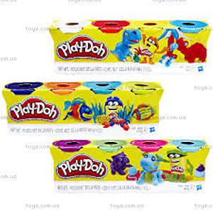 Набор Play-Doh из 4 баночек, B5517, купить