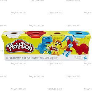 Набор Play-Doh из 4 баночек, B5517