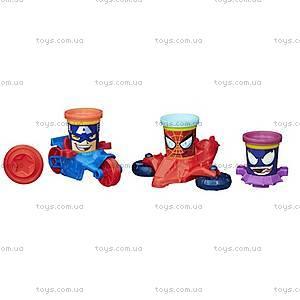 Набор Play-Doh «Транспортные средства героев Марвел», B0606, купить