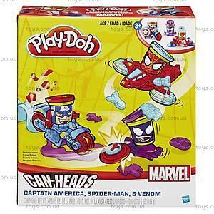 Набор Play-Doh «Транспортные средства героев Марвел», B0606