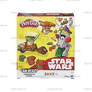 Пластилин Play-Doh «Транспортные средства героев Звездных войн», B0001, купить