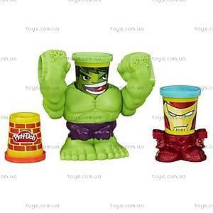 Игровой набор Play-Doh «Битва Халка», B0308, фото