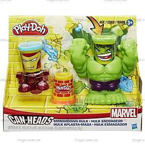 Игровой набор Play-Doh «Битва Халка», B0308