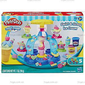Игровой набор пластилина Play-Doh «Фабрика мороженого», B0306