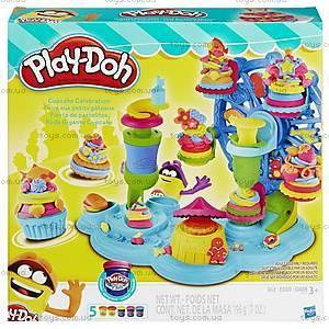 Игровой набор Play-Doh «Карнавал сладостей», B1855