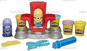 Игровой набор Play-Doh «Миньоны в парикмахерской», B0495, купить