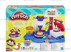 Игровой набор Play-Doh «Сладкая вечеринка», B3399