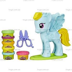 Игровой набор Play-Doh «Стильный салон Рэйнбоу Дэш», B0011, купить