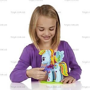 Игровой набор Play-Doh «Стильный салон Рэйнбоу Дэш», B0011, фото