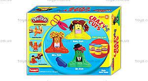 Игровой набор Play-Doh «Сумасшедшие прически», B1155, цена
