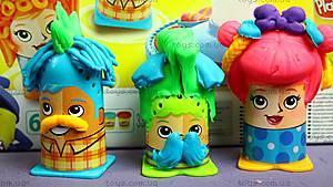 Игровой набор Play-Doh «Сумасшедшие прически», B1155, игрушки