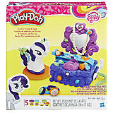 Игровой набор Play-Doh «Туалетный столик Рарити», B3400, фото